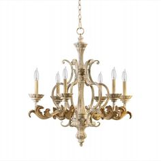 6 light Florence French Country Chandelier