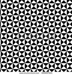 Arrow seamless geometric pattern vector background