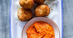 This recipe for salt cod croquettes with shaved fennel salad from Bandol, Chelsea, went down a treat with the olive team