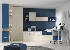Estupendas y originales ideas para amueblar un dormitorio juvenil. ¿Qué os parecen?