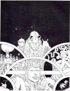 #Moebius (Jean Giraud) #comics #illustration