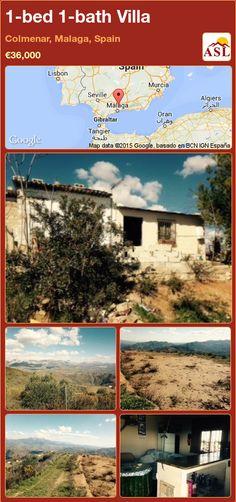1-bed 1-bath Villa in Colmenar, Malaga, Spain ►€36,000 #PropertyForSaleInSpain