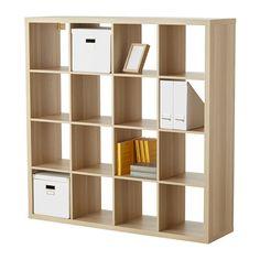 КАЛЛАКС Стеллаж - под беленый дуб - IKEA