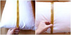 Coser fundas de almohada. Tutorial paso a paso