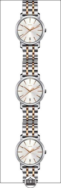 Rado R14089103 DiaMaster de las señoras reloj de - Plata con caja de acero inoxidable movimiento de cuarzo  ✿ Relojes para mujer - (Lujo) ✿