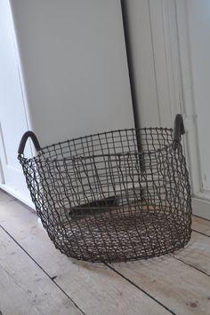 wire basket!