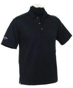 Callaway Men's Solid Polo Short Sleeve Shirt (Anthracite, X-Large).    List Price:$40.00  Buy New:$37.69  You Save:6%  Deal by: ProGolfShoppers.com