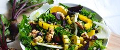 Prep for the season change with this fall kale salad recipe. It's packed with squash, beets and pumpkin seeds to give your body the nutrients it craves.