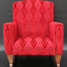 vintage red.