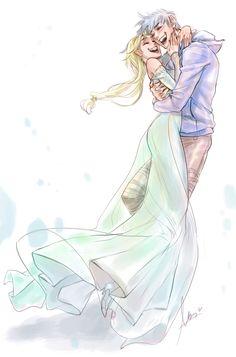 Elsa and Cinderella 2015 belong to Walt Disney Animation Studios. Jack Frost belongs to Dreamworks Animation Studios. Now available on Jelsa Cinderella AU Jelsa, Jack Y Elsa, Jack Frost And Elsa, Crossover, Fanart, Rise Of The Guardians, Elsa Frozen, Frozen Anime, Disney And Dreamworks