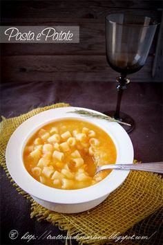 Pasta e patate - Trattoria da Martina - cucina tradizionale, regionale ed etnica