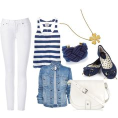 Navy, created by patricia-teixeira on Polyvore