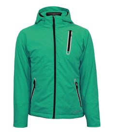 Take a look at this Mystic Green Amor Jacket by Boulder Gear on #zulily today!