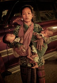 Twins by Shathel Fahs on - Cambodia