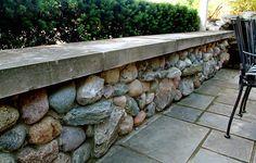 05 Fieldstone Retaining Wall