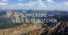 It's no secret that we LOVE hiking in Bozeman, Montana #bozeman #montana #hiking #getoutstayout