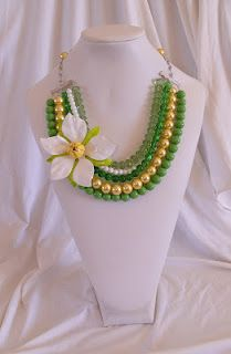 Here is another necklace for the boutique in the barn on April 28th!