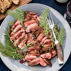 Four-Spice Duck Breasts with Carrots | Food & Wine