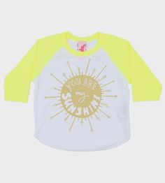 You Are My Sunshine Toddler Baseball Tee | Let that little cub of yours know they're your sunshine with t... | Baby & Toddler Tops
