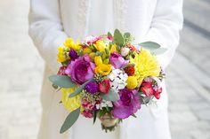 Bouquet de mariée - mariage civil
