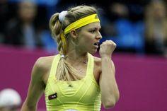 Maria Kirilenko had a great tournament last week