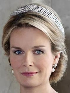 Tiara Mania: Nine Provinces Tiara worn by Queen Mathilde of the Belgians