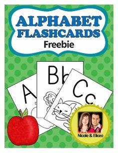 FREEBIE - Alphabet Flashcards