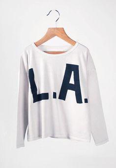 0cadd78de Bobo Choses Long Sleeve T-shirt L.A