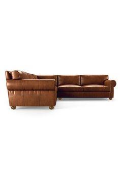 Oliver Leather Corner Sectional