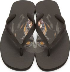 Sandals Givenchy preto Rottweiler