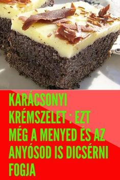 Hungarian Cake, Hungarian Recipes, Smoothie Fruit, Deserts, Good Food, Paleo, Goodies, Sweets, Snacks