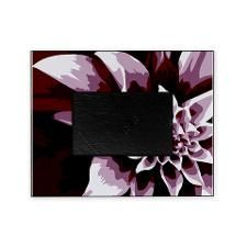 Deep Purple Flower Picture Frame. Click to see this design on other products.