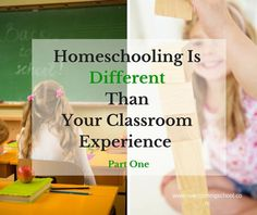 When you first start homeschooling, you might wonder how homeschooling and the classroom are different. This is the first in a four part series to help new homeschooling parents make their homeschool unique and full of learning without resorting to traditional classroom techniques.
