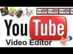 Como Crear Un Video De Fotos y Musica Con El Editor Online De YouTube.