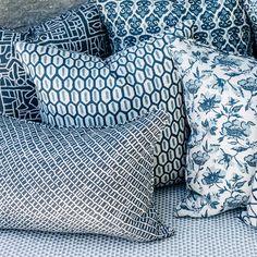 Walter G Wholesale Portal - AUS - Sonora Harbour linen cushion 35x55cm Portal, Fabrics, Cushions, Throw Pillows, Tejidos, Toss Pillows, Toss Pillows, Pillows, Decorative Pillows