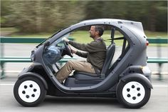 Renault Twizy. Cutest car ever? I don't care about speed.
