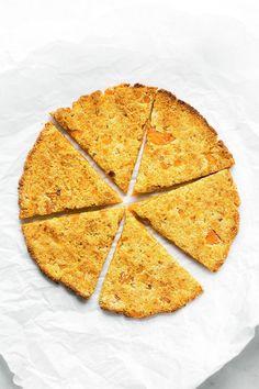3 Ingredient Sweet Potato Pizza Crusts (Paleo, Vegan, Gluten Free)