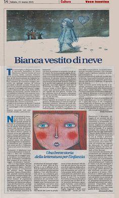 """Irene Navarra / Visioni: """"Bianca vestito di neve"""" di Anna Mattiuzzo."""
