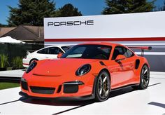 Porsche 991 GT3 RS painted in Lava Orange  Photo taken by: @eastcoastcars on Instagram