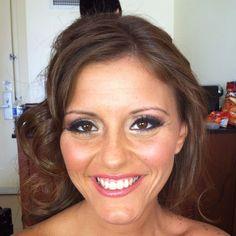 beach wedding make up
