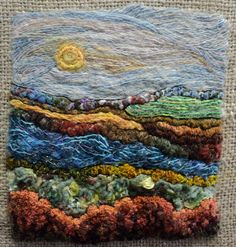 Needle Felting and Hand Embroidery