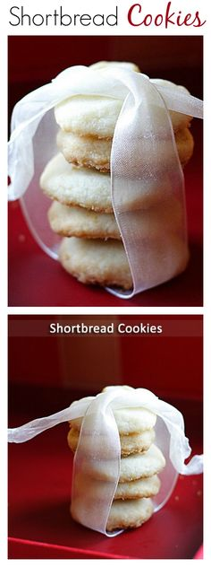 Shortbread Cookies - easy and amazing, buttery and crispy shortbread cookies that you should bake this holiday | rasamalaysia.com