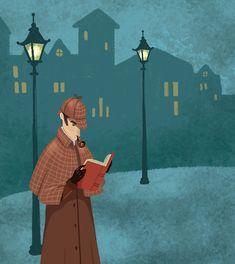 Gisela Bohórquez on Behance Sherlock Comic, Sherlock Tumblr, Sherlock Poster, Sherlock Quotes, Funny Sherlock, Molly Hooper Sherlock, Sherlock Holmes 3, Sherlock John, Jim Moriarty