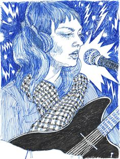 'angel olsen' Poster by nukotakao Ravenclaw, Hope Gangloff, Angel Olsen, Simple Photo, Janis Joplin, Pen Art, Art Sketchbook, Figure Painting, Les Oeuvres