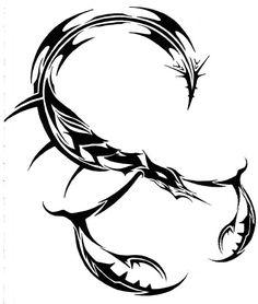 scorpion tattoo unique