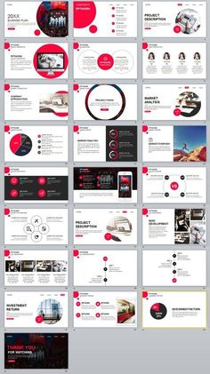 25+ Round Creative business PowerPoint Template