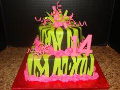 Zebra Cakes For Teenage Girls   zebra14