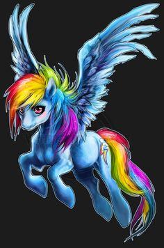 .:Fly High Rainbow Dash:. by *WhiteSpiritWolf on deviantART