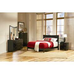 Atlantic Furniture Miami Panel Bed & Reviews | Wayfair