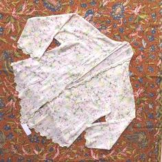 #embroidery #indonesian #bintage #kebaya #floral #simple #motif #white #with #and #in Bintage Indonesian Kebaya with Floral Motif in White and Simple EmbroideryYou can find indonesian kebaya and more on o... Indonesian Kebaya, Simple Embroidery, Modern Outfits, Floral Motif, This Or That Questions, Jakarta, Stains, Popular, Clothes